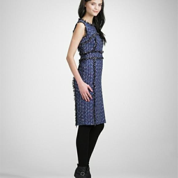 78f196ca48 Tory Burch Petula Tweed Sheath Dress size 6. M_5a4ae19ccaab444703068f85